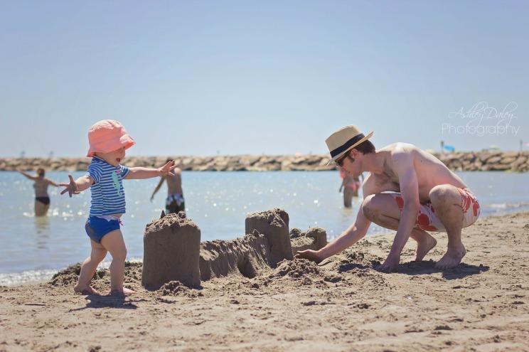 More sandcastles