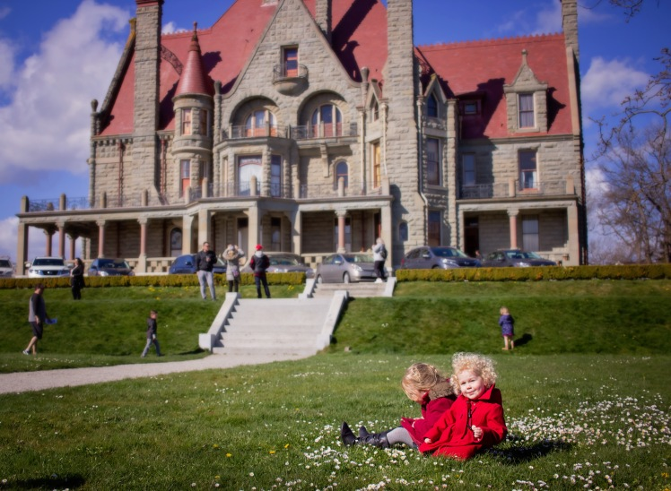 victoria with kids easter brunch and craigdarroch castle