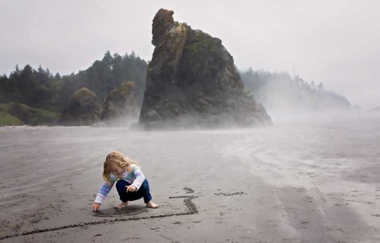 camping at kalaloch with kids