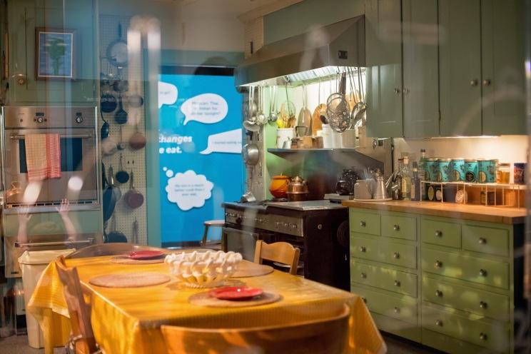 Replica of Julia Child's kitchen