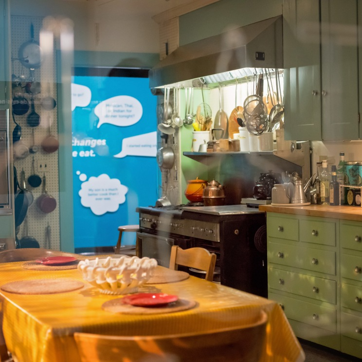 Replica of Julia Child's kitchen