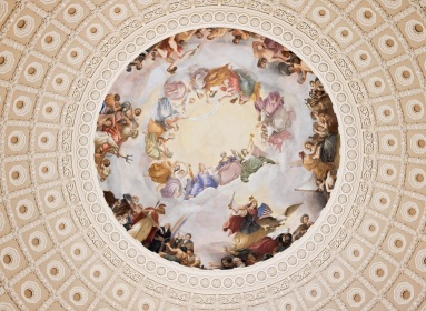The top of the Rotunda