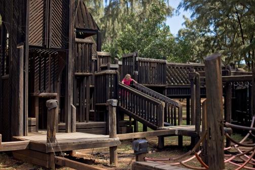 This playground was humongous!